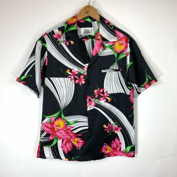 Hilo Hattie Other - Hilo Hattie Tropical Hawaiin Camp Shirt Sz Large